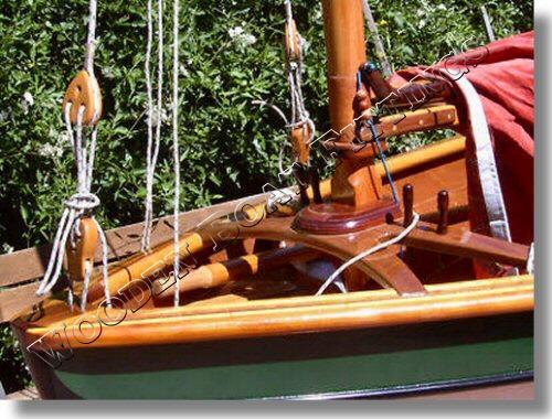 Converting a sprit sail plan to balanced lug.