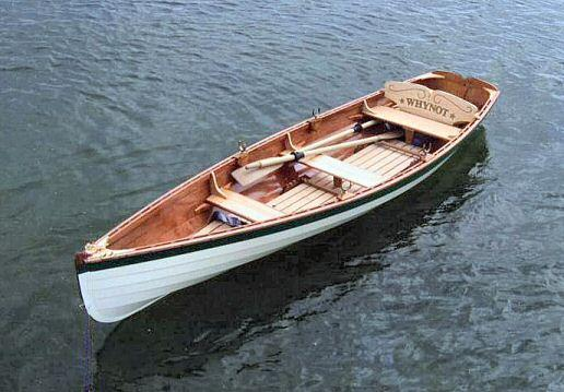 Looking for nice rowing skiff plans - NOT a kit