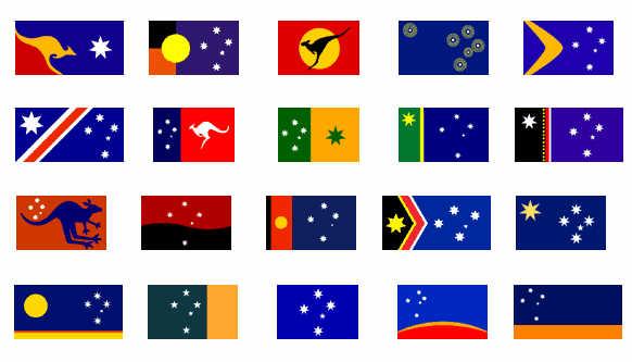 australian new flag what happened history forum all