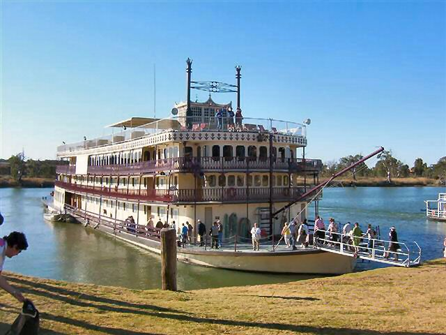 murray river paddlesteamers up for sale